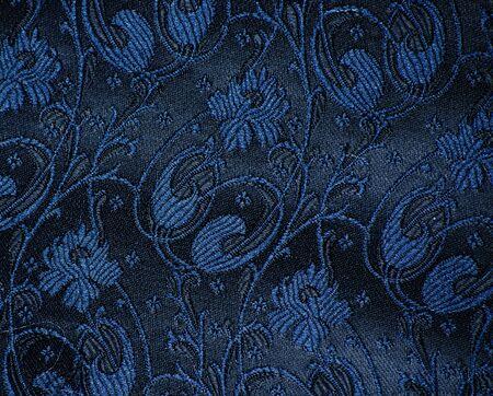 vintage brocade fabric detail