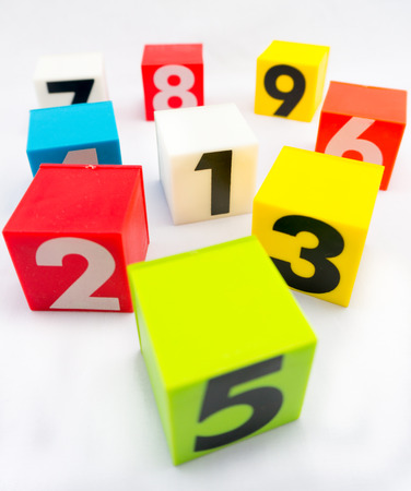 scatter: scatter block of number and number one is in the center