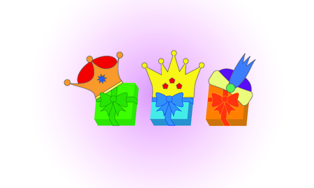 The crowns of the Magi in gifts