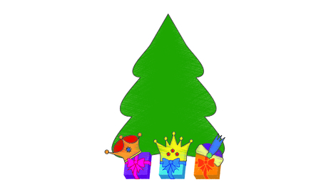 Tree of gifts Kings of the Orient