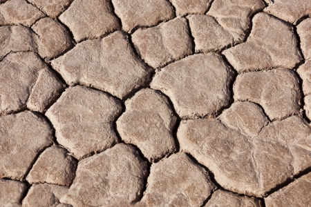 Dry earth in the Sahara desert, Morocco. photo
