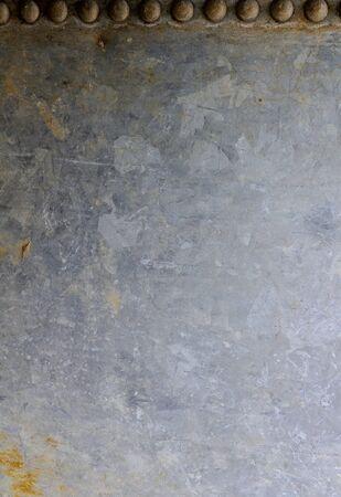 galvanized: old galvanized sheet