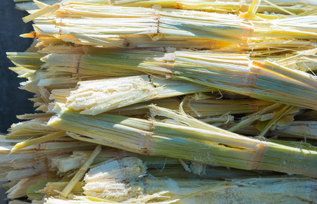Residue of sugar cane, the rest from the juice of sweet water was removed.