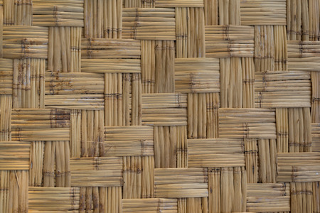 Bamboo woven pattern texture for use as background.