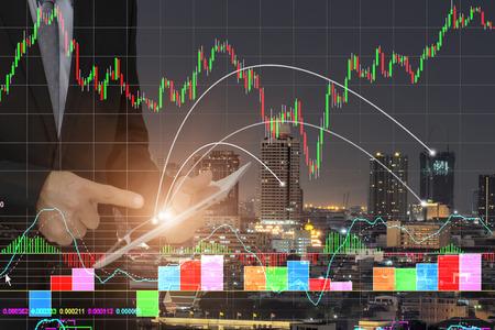 Investors Financial Concept .