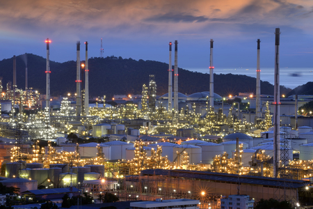 A large oil-refinery plant Editorial