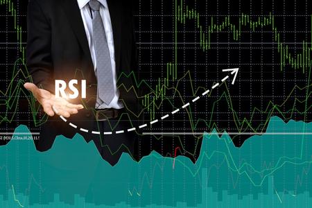 Financial Concept. Relative Strength Index