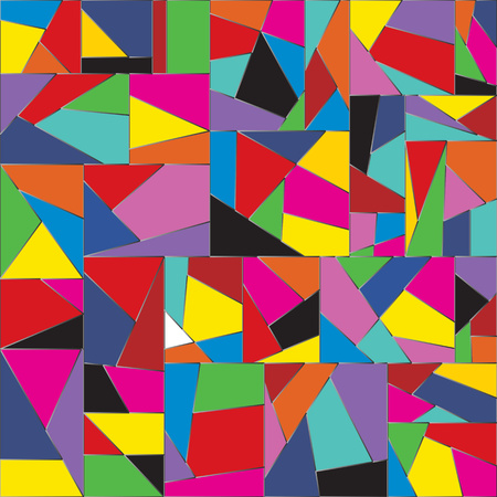 Abstract graphic colorful background