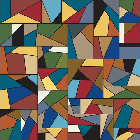 抽象的なカラフルな背景の画像  イラスト・ベクター素材