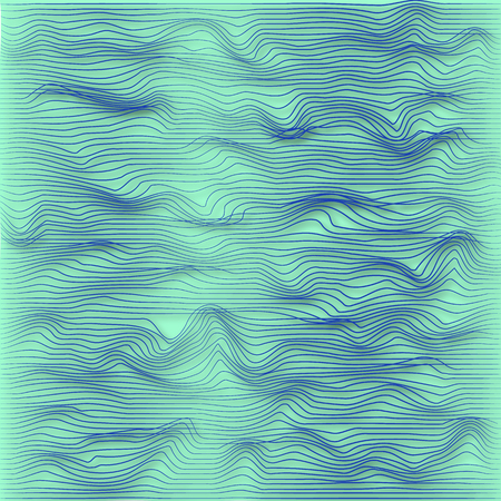Abstract vector background with lines and shadows.