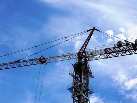 Tower crane Stock Photo - 14403926