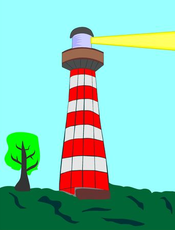 The lighthouse Stock Vector - 17193120