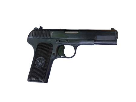 Photo TT pistols isolated on a white background