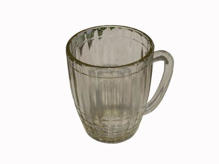 Beer mug isolated on white background.