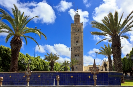 View of the city Casablanca, Morocco