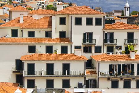 Funchal city on Madeira island, Portugal