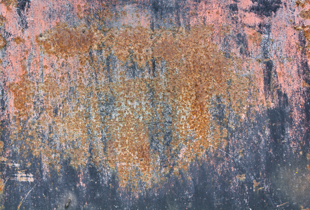 old rusty dirty iron metal plate background