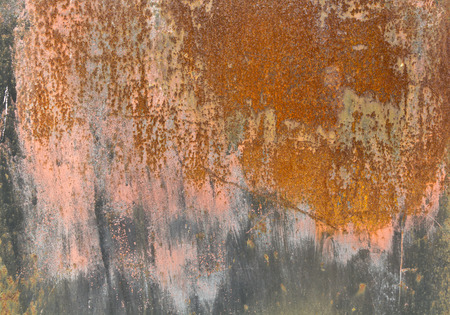 old rusty dirty iron metal plate background photo