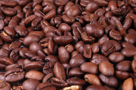 A closeup of coffee beans. Would make a good background. Stok Fotoğraf