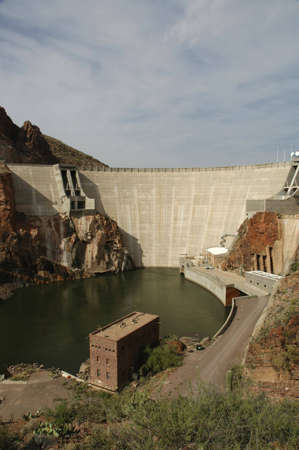 A hydroelectric dam in Arizona.