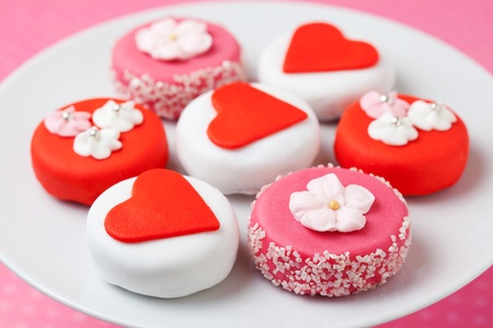 Sweet Valentine Petit Fours photo