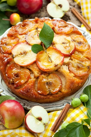 Apple Upside Down Cake photo