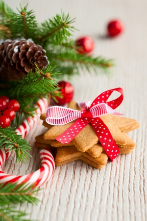 Christmas cookies with festive decoration Stock Photo - 15529161