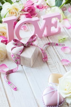 バレンタインデーのコンセプト 写真素材