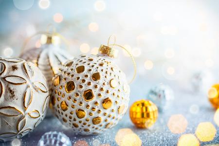 크리스마스 배경 은색과 금색 빈티지 싸구려