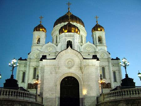 cristian: central orthodox cathedral in Moscow