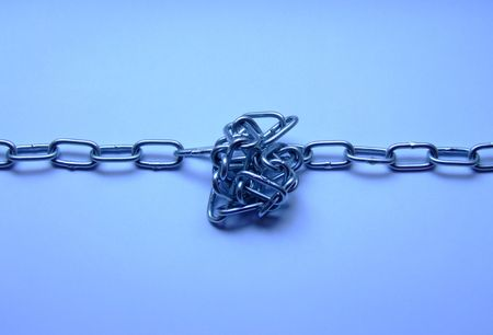 insoluble: chain knot