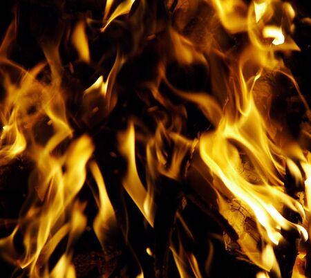 brand damage: flame Stock Photo