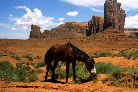 monument valley: Monument Valley, Arizona Stock Photo