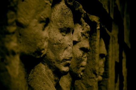 depictions: Rome, Appia Antica, depictions of a tomb