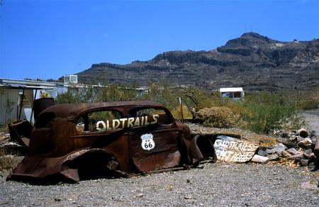 Route 66, scrap car