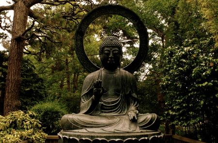 日本庭園、サンフランシスコ 写真素材