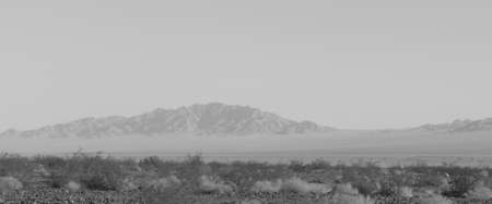 Route 66 desert Banco de Imagens