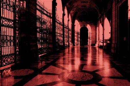 metaphysics: Basilica of San Giovanni, Rome Stock Photo