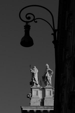 the prophets: Basilica of St. John, Rome