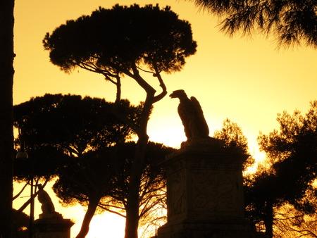 villa borghese: Villa Borghese Stock Photo