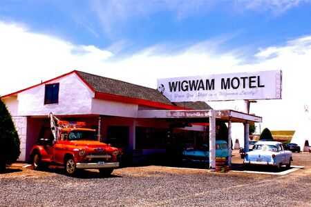 66: Route 66, Wigwam Motel Editorial