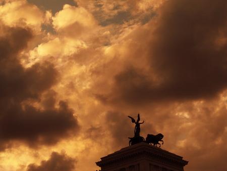 Monumento Vittoriano Roma Archivio Fotografico - 86570918