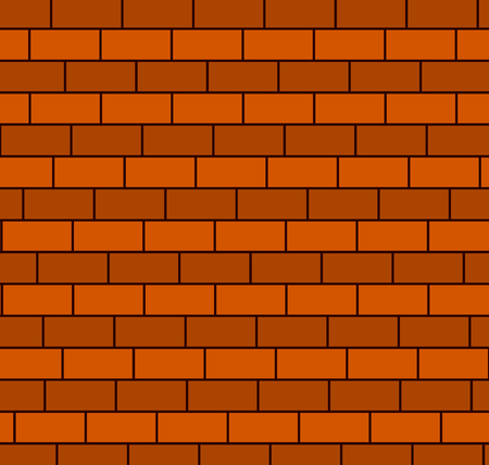 Brown brick wall background,vector