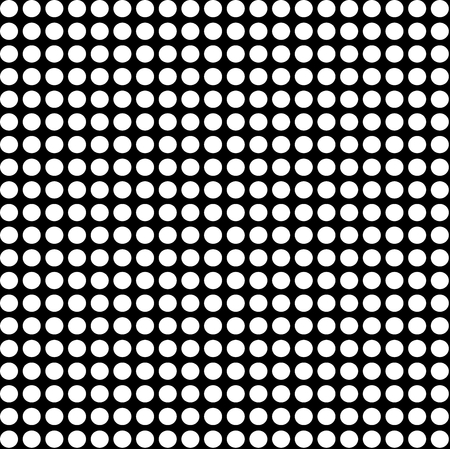 A pattern with black dots on white background.