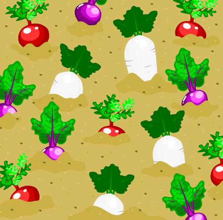 Gemüsegarten Hintergrund
