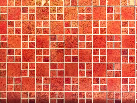 Red tile texture, the red floor Stock fotó