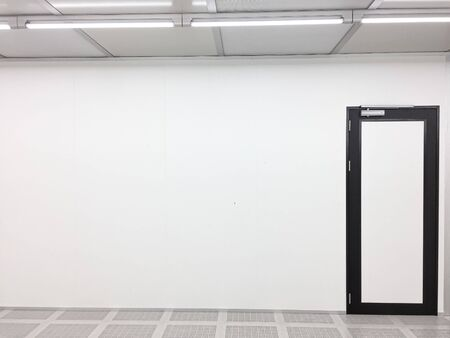 Inside Clean room class 1000 at factory,empty room with door