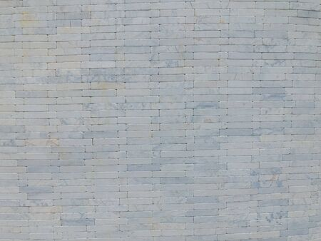 Background of white marble brick wall textures Stock fotó