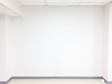 Empty wall background,Copy space with blank room.