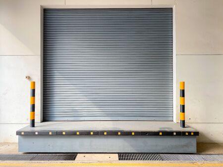 roller shutter door of warehouse,metal sheet door Stock fotó